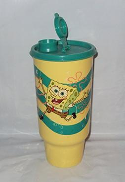 Tupperware On The Go Tumbler 32 Ounce ThirstQuake SpongeBob
