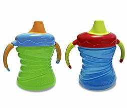 Gerber Graduates 7 Ounce Fun Grips Trainer Cup, 2 Pack