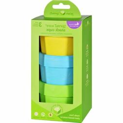 green sprouts Sprout Ware Snack Cups made from Plants-Aqua S
