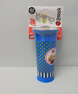 Sassy 12 Ounce Grow Up Cup - 2 Pack