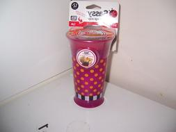 Sassy Grow up cup 360 sippy cup new pink