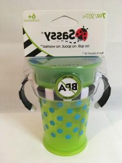 Sassy Grow up Cup No Spill, 7oz - 6+ Months
