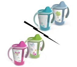 Born Free Grow with Me 6 oz Training Toddler Sippy Cup - 2 p