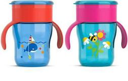 Avent - Grown Up Cup 12 MONTH 260ml PICK COLOUR Sippy Bottle