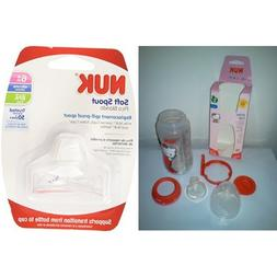 NUK Hello Kitty Silicone Spout 10-Ounce Active Cup with Repl