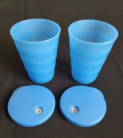 Tupperware Impressions Tumbler Cups Set Of 2  -11 oz - 300 m