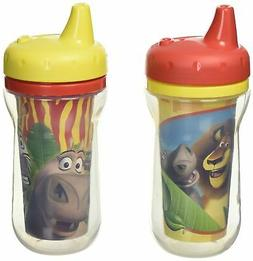 The First Years 2 Piece Insulated Sippy Cup, Madagascar
