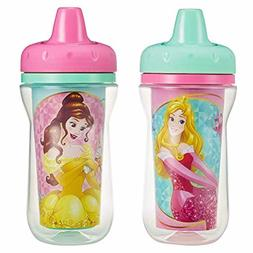 The First Years Insulated Sippy Cups, Disney Princess 9 Ounc