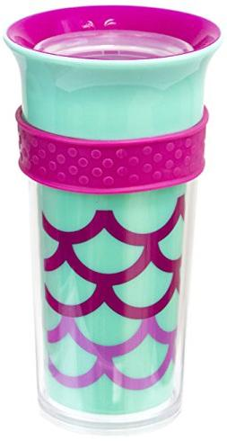 Sassy Insulated Tritan 360 Grow Up Spout Less Sippy with Gri