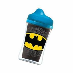 NUK Insulated Sippy Cup, Batman & Justice League, 9oz 2pk