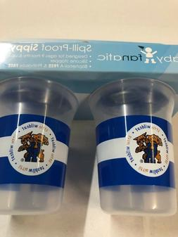 KENTUCKY WILDCATS BABY FANATIC SPILL-PROOF SIPPY CUP 2-PACK