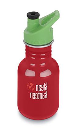 Klean Kanteen Kids Single Wall Stainless Steel Sport Bottle