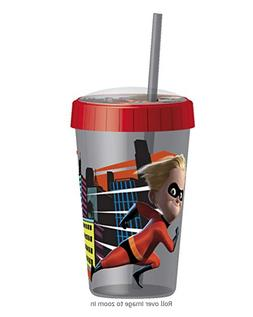 Kids Cup Sippy 4pack Incredibles 2 Tumbler With Embossed Lid