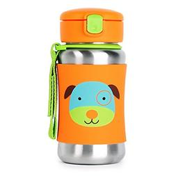 Skip Hop Kids Water Bottle With Straw Stainless Steel Sippy