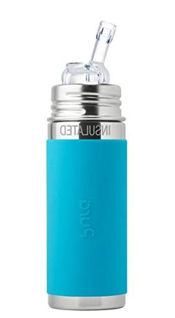 Pura Kiki Stainless Steel Baby Infant Insulated Straw Bottle