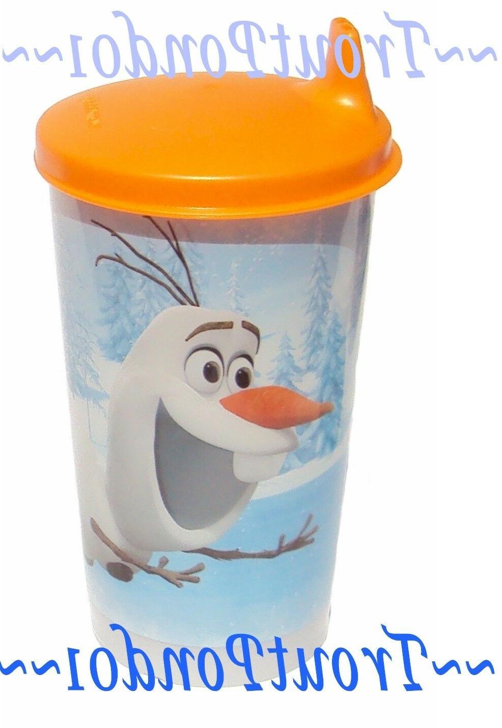 Tupperware 11 oz Tumbler Disney Frozen Olaf Sipper Seal Big