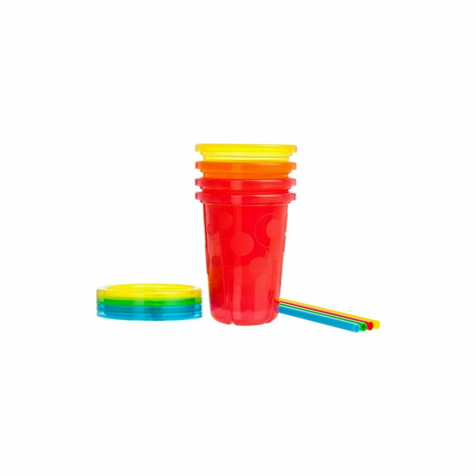 Sippy Cups Snap Lids 10 Oz 16 Ct