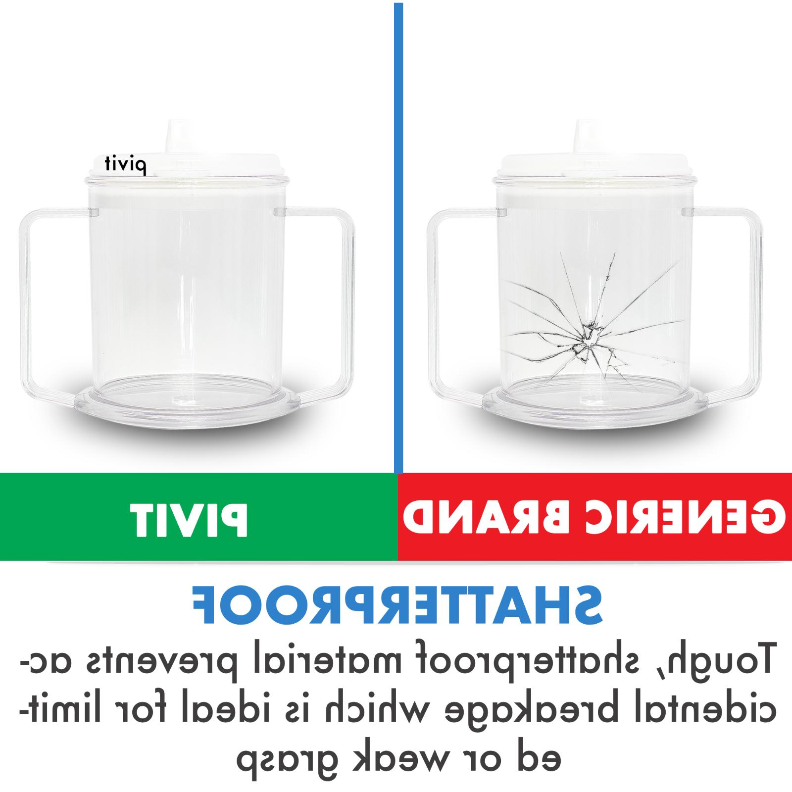 2 Cups Mug Cup With For