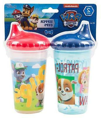 2 pack paw patrol baby spill proof