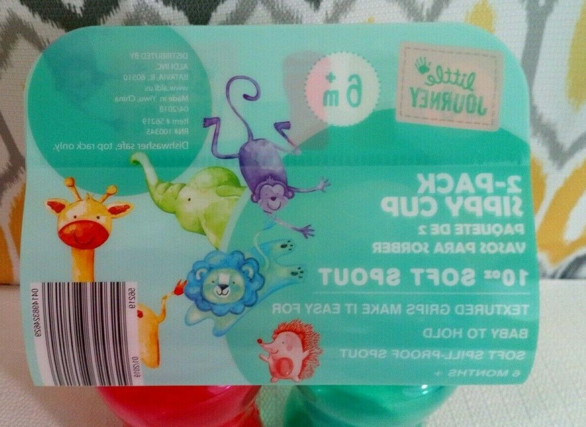 Little Sippy Cup 10 Soft 6+ Months Red/