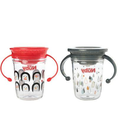 2 No Sippy Cups Spill With For Toddlers 360 Wonder