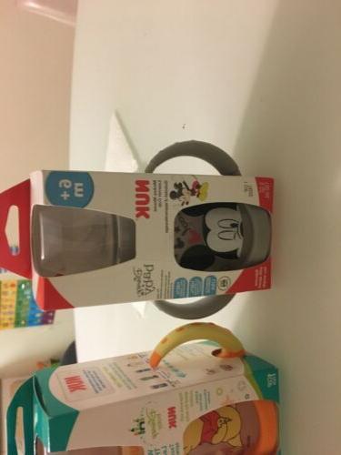 3 NUK Disney Sippy Cup, Soft Spout