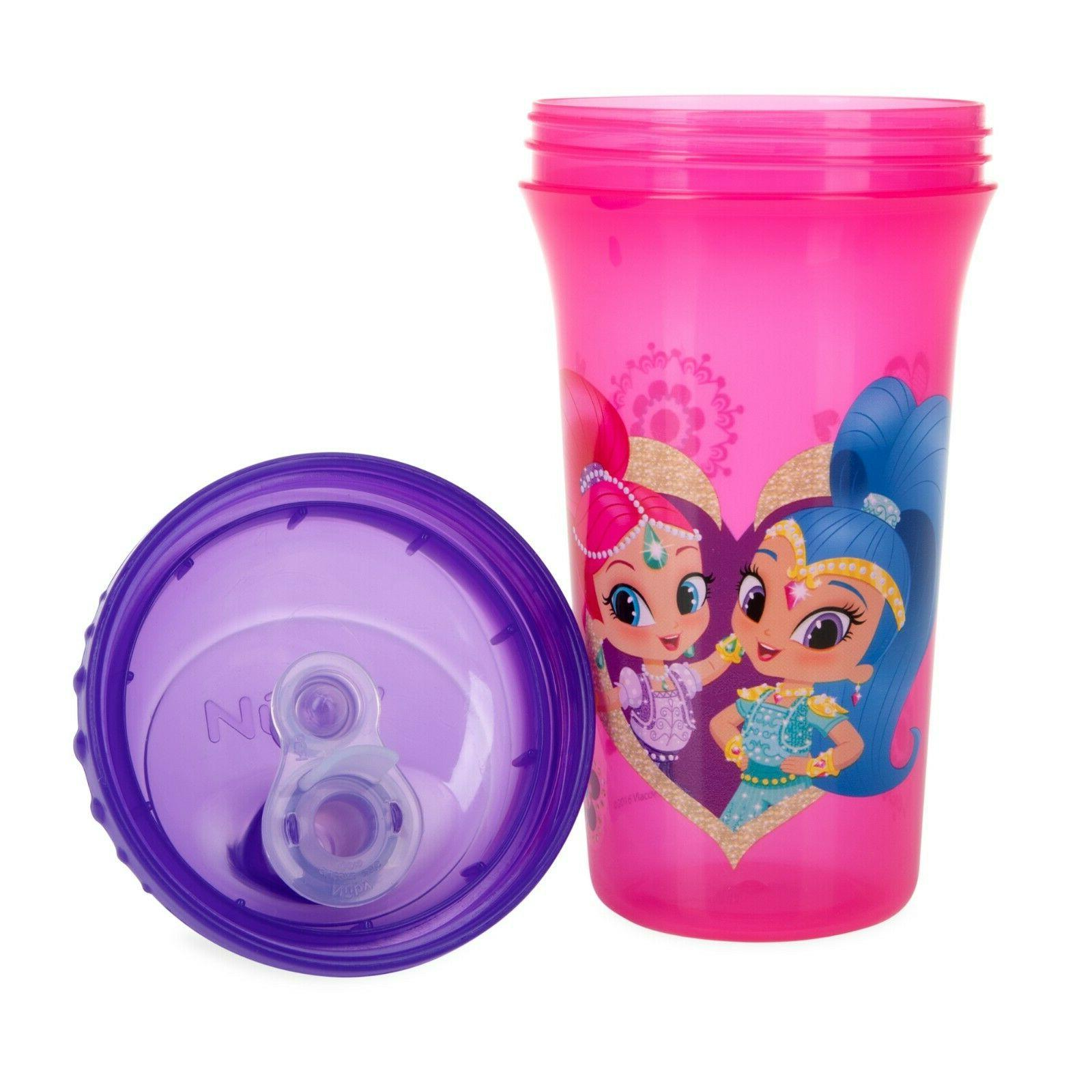 Nuby 3-Pack & Shine No-spill Easy Spout
