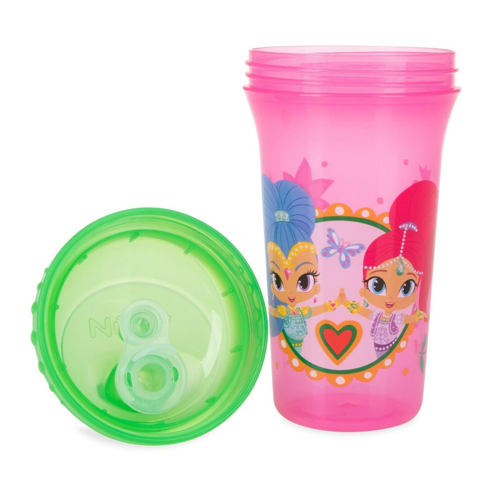 Nuby 3-Pack Nickelodeon & Shine Sippy Spout