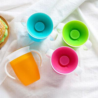 creative no spill baby kids sippy cup