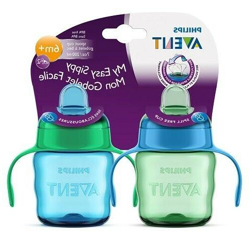 PHILIPS AVENT - MY EASY SIPPY - 6M+ - 7OZ - BLUE/GREEN - RC