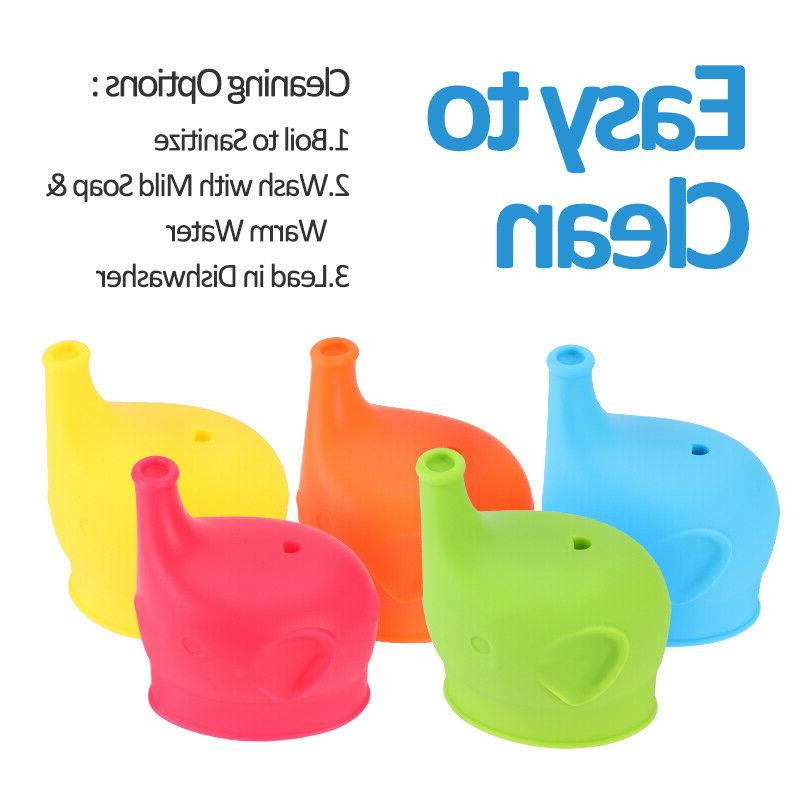 5x Silicone Any Cup Reusable
