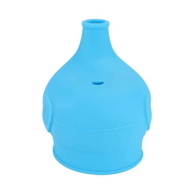 5x Silicone Sippy Any Reusable