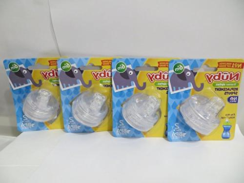 8 sippy gripper replacement spouts