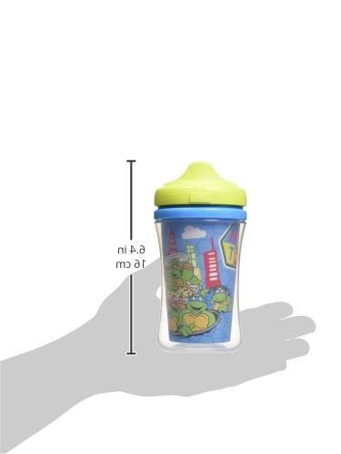 Gerber Mutant Ninja Hard Sippy Cup, 2-Pack