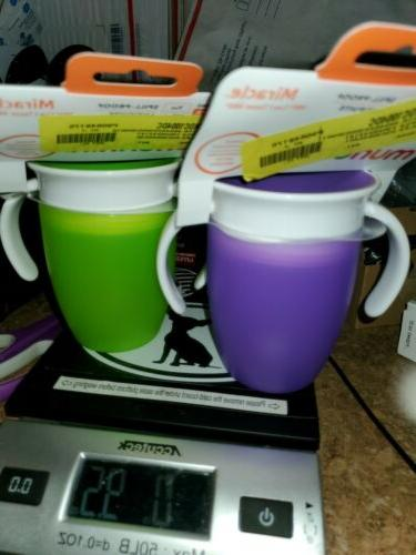 Munchkin Miracle 360 Cup Colors May Vary, 7 oz