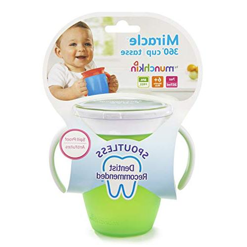 Munchkin Trainer Cup, Green/Blue, Ounce, 2