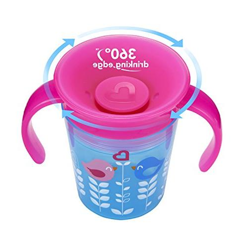 Munchkin Miracle Cup, Pink/Blue,