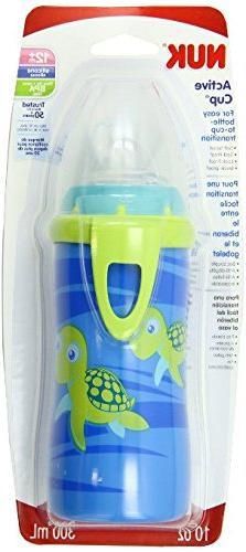 NUK Blue Turtle, 1pk