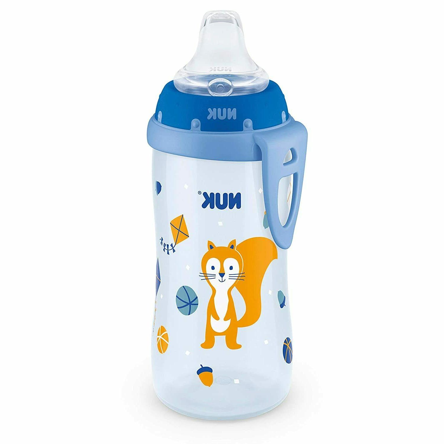 NUK Sippy Blue Turtle, 10oz
