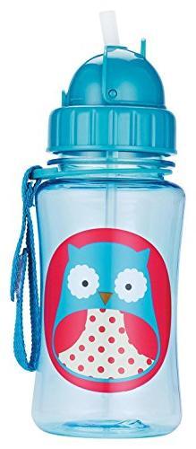 Skip Hop Straw Toddler Transition Sippy Owl