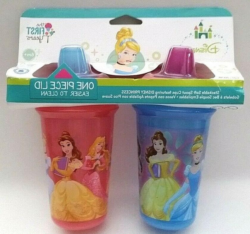 The First Years Disney 2 Piece Baby Stackable Soft Spout Cup