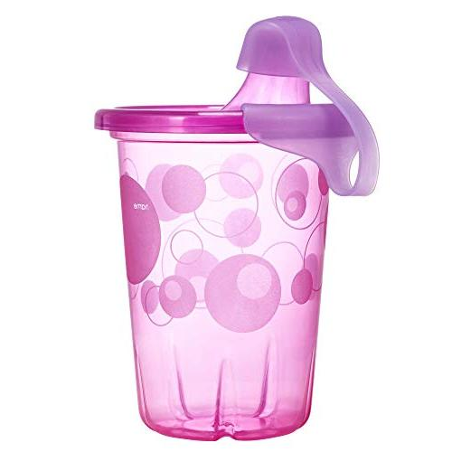 The Take & Toss Sippy Cups 10 Ounce Pink