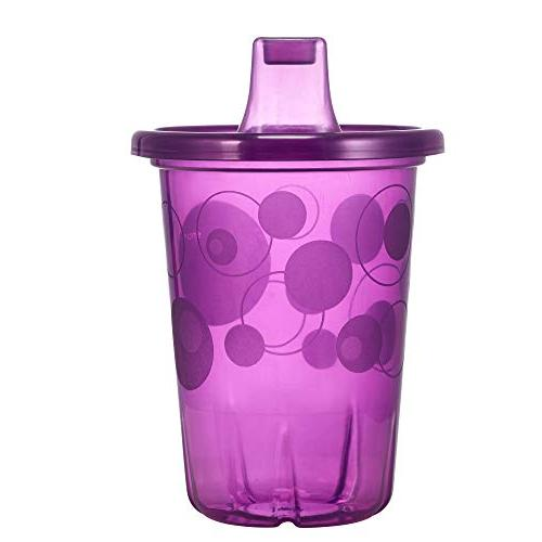 The & Spill-Proof 4-Pack Sippy Cups Ounce