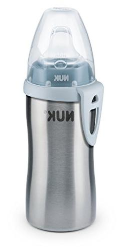NUK Active Cup Stainless Steel, Stainless Steel Cup, 215 ml,