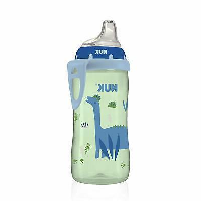 active sippy cup blue dinosaur 10oz 1pk