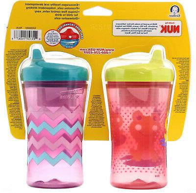 NUK Advance 12 Girl Cups oz ml Each