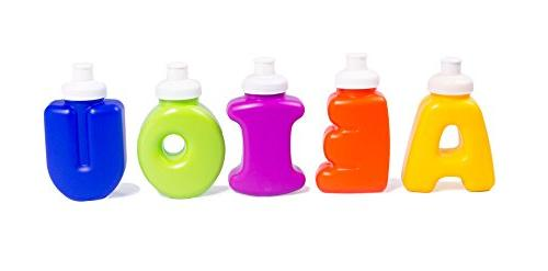 alphabet kids sippy cups water