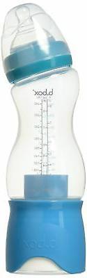 B. Box Essential Baby Bottle - Aqua - 8 oz