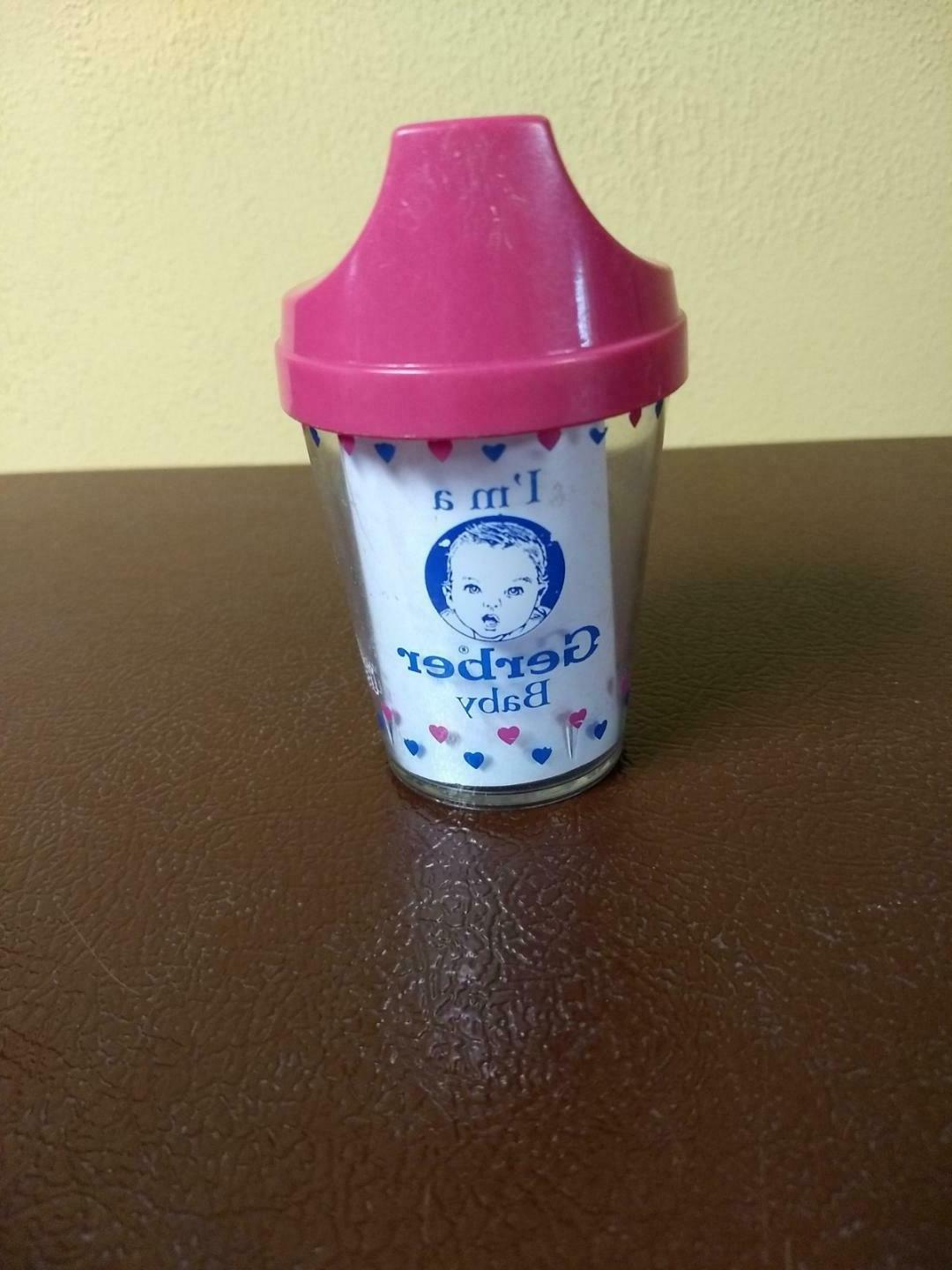 Gerber Baby Bottle Matching Sippy Cup