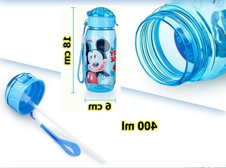 Baby School Drinking Water Bottle Sippy Suction